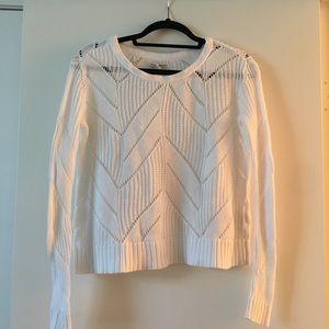 Eyelet Sweater